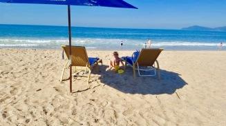 Praia Serviço Deck