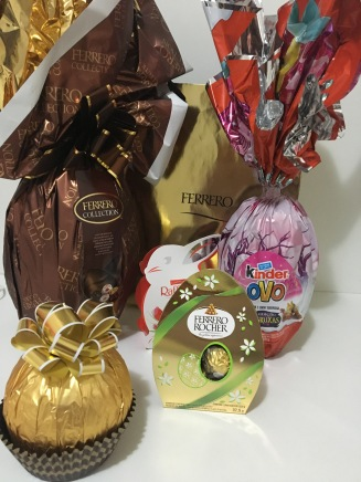 Grand Ferrero, Embalagem Especial de páscoa e Kinder Ovo